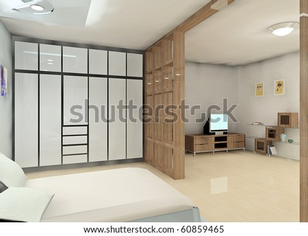 A Cozy Bedroom Design Proposal