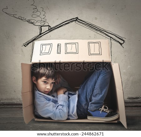 A cozy house  - stock photo