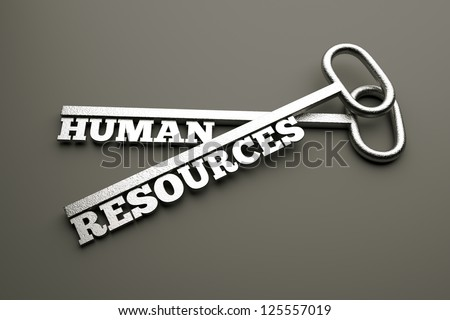 a creative idea with keys - stock photo