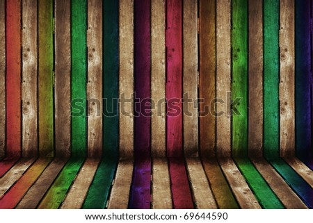 a creative wooden background, grunge scene