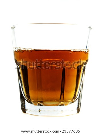 a cup of whiskey