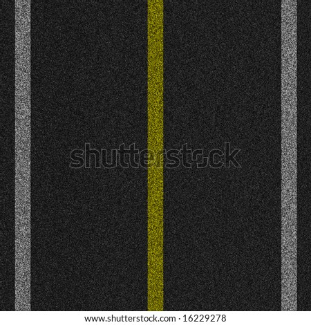 a 2d illustration of a pavement background - stock photo