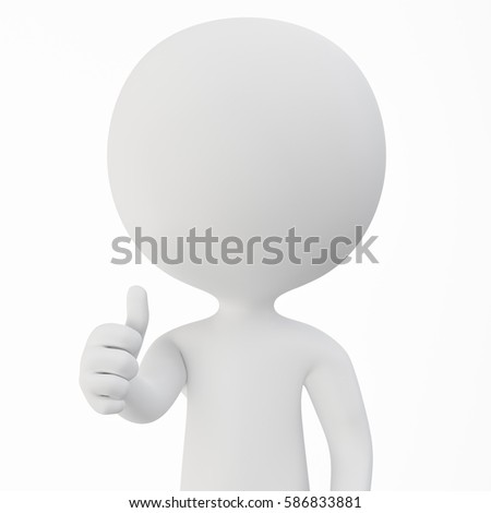 A 3D rendered image of a person who poses good