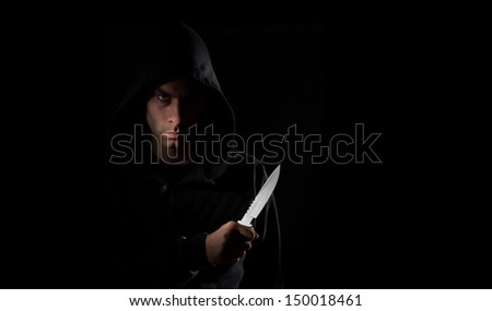Killer Knife Stock Photos, Images, & Pictures   Shutterstock
