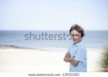 A day at the beach - stock photo