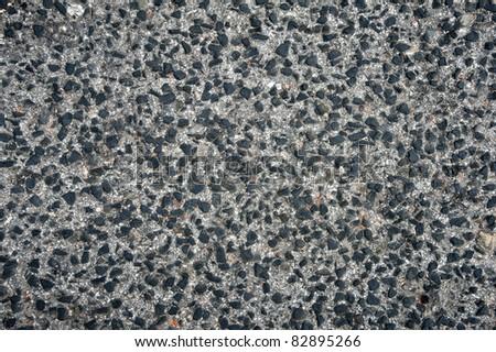 A detailed dark asphalt texture grey and black - stock photo