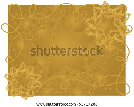 A detailed wire star background - stock photo