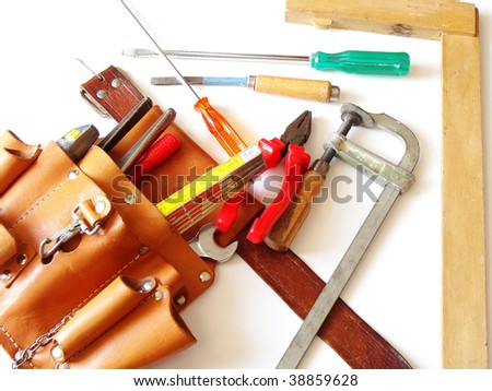 a different kind of tools - stock photo
