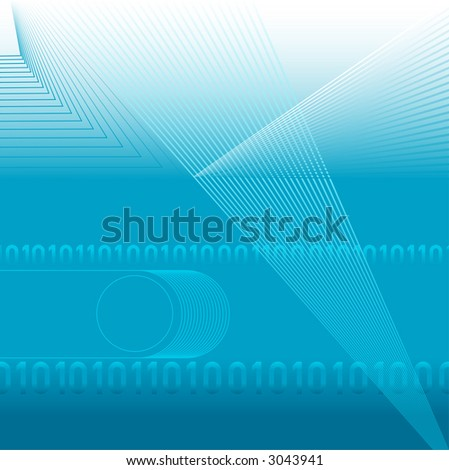 A digital background abstract.  Top margin bleeds to white.