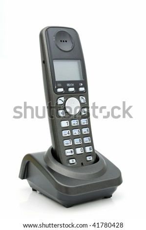 A digital wireless phone with LCD, standard DECT.