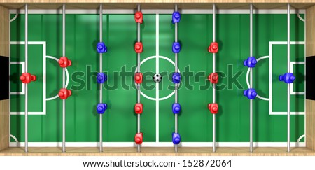 Direct Top View Wooden Foosball Table Stock Illustration 152872064 ...  Direct Top View Wooden Foosball Table Stock Illustration 152872064