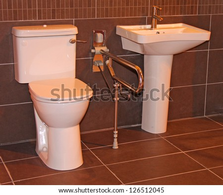 Disabled Bathroom Stock Images, Royalty-Free Images ...