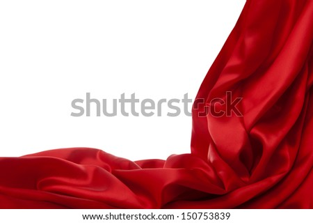 a elegant background with a colorful fabric