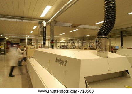 a factory - stock photo