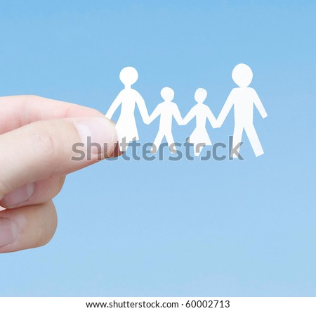 A family - stock photo