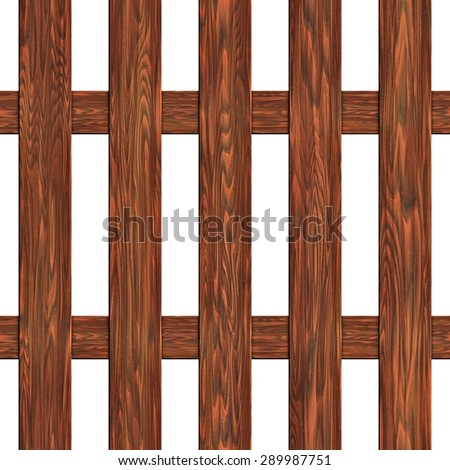 A fence made of boards seamless texture - stock photo