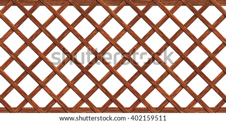 A fence made of boards seamless texture wood  3D illustration