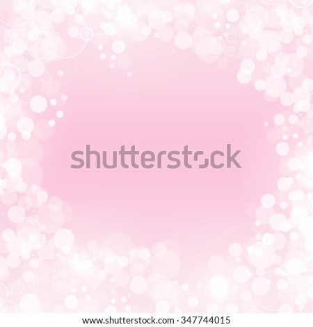 A festive bokeh background in gold and white. - stock photo