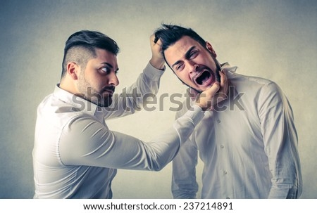 A fight  - stock photo