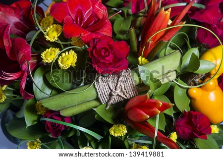 Stock images royalty free images vectors shutterstock for A lot of different flowers make a bouquet