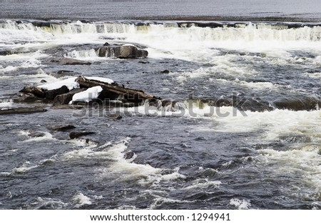 A flowing water background texture image.
