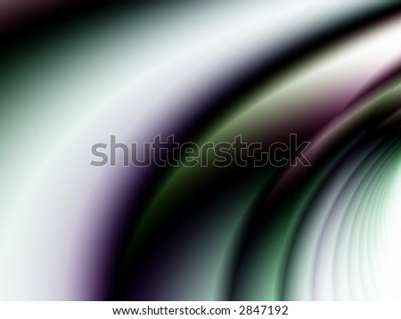 A fractal background consisting of the arcs from a series of rings. - stock photo