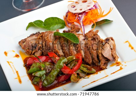 Main Dish Main Course Stock Images, Royalty-Free Images ...
