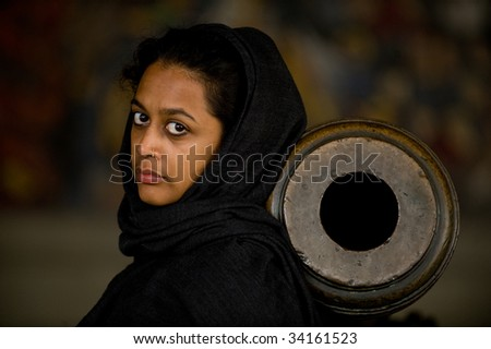 A Friend from Abroad - stock photo