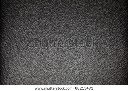 A full frame texture of some black leather used on some furniture. - stock photo