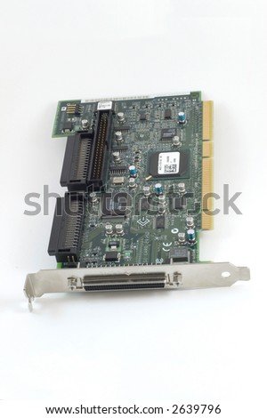 A generic scsi card for a computer or server