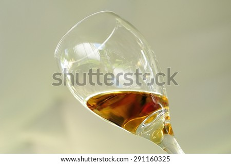 A glass of Tequila - stock photo