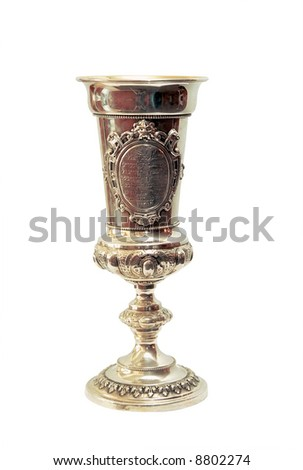 A goblet for passover. - stock photo