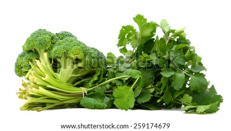 A good green vegetables - stock photo
