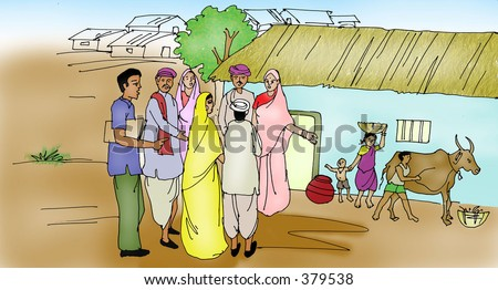 Pictures of Indian Farmer Clipart - #rock-cafe