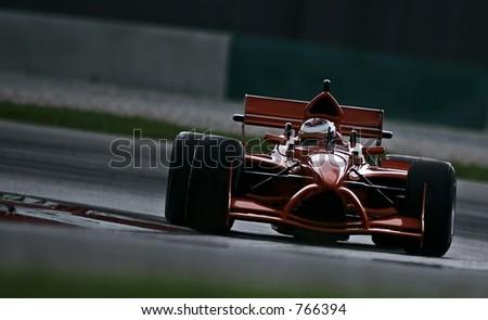 A1 Grand Prix motorsport racing. - stock photo