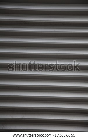 A gray corrugated pattern.