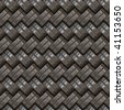 A gray metal texture that tiles seamlessly as a pattern. - stock photo