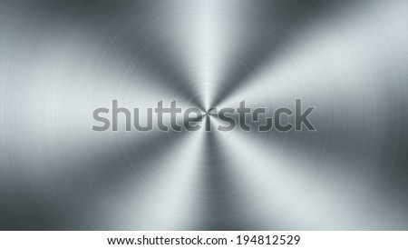 A grey metal plate texture, extreme closeup - stock photo
