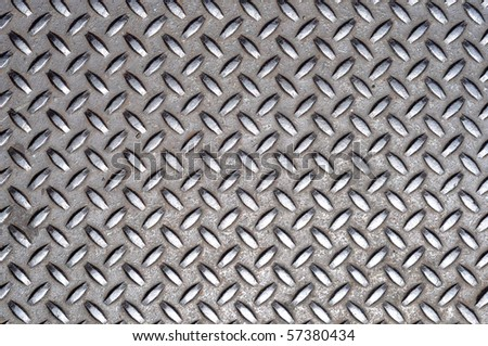 A grunge background texture of shiny metal. - stock photo
