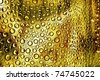 a grunge bubbles as a texture or background - stock photo