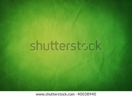 A grunge green texture with space for text or images. - stock photo
