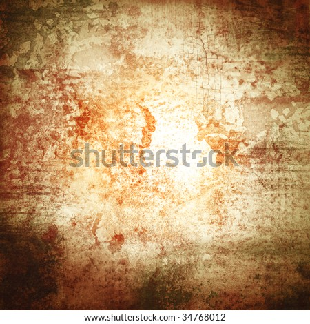 a grunge paper texture with cracks