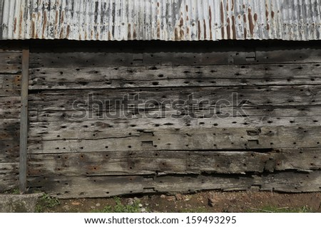Corrugated Metal Siding Stock Photos Images Amp Pictures