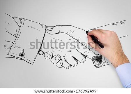 the handshake essay The power of a handshake in boosting trust and partnership was evident regardless of whether the encounter ended positively or negatively (that is, whether the scene ended by the two approaching.