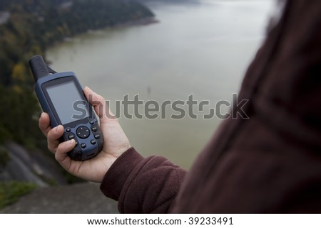 A handheld GPS is a valuable tool for outdoor nvigation.