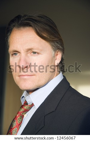 A handsome 43 year old businessman. - stock photo