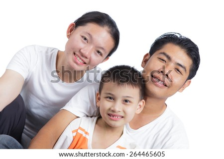 A happy family