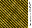 A hazard stripes texture that tiles seamlessly as a pattern. - stock photo