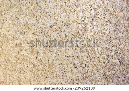 A Healthy Dry Oat meal - stock photo