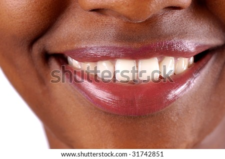 A healthy smile - stock photo